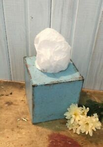 They are flexible to the point that you can change their marks, edges and background. Sturdy Paper Mache in Bird Egg Blue ~ Keenex Holder ...