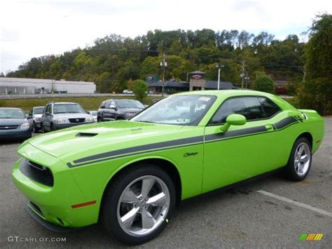 2015 Sublime Green Pearl Dodge Challenger R/T Plus