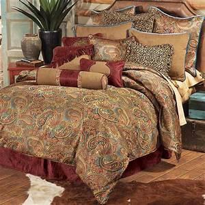 Western, Bedding, King, Size, San, Angelo, Comforter, Set