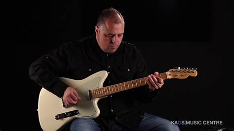 kaos gear video fender tele offset magnificent seven edition youtube