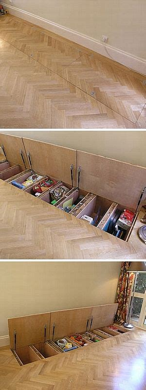 floor l with storage sub floor storage really clever and has got me thinking