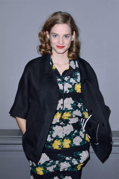 NOEMIE SCHMIDT at Rochas Fashion Show at PFW in Paris 02 ...