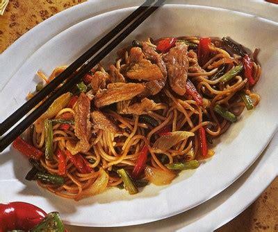 comment cuisiner des nouilles chinoises recette porc sauté aux nouilles chinoises 750g
