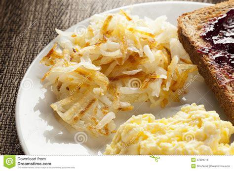 Hemlagad Hälsosam Amerikansk Frukost Arkivfoto - Bild av ...