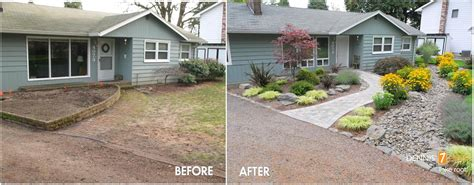 landscaping before and after before and after photos of front yard landscaping pdf