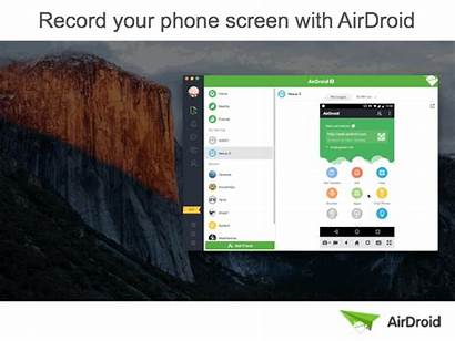 Screen Record Update Airdroid Sharing