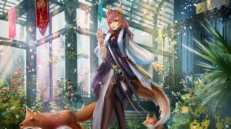 Fox Anime Wallpaper - anime fox high definition wallpaper 21369 baltana
