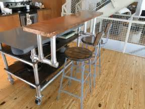 kitchen island cart with breakfast bar kitchen island cart on wheels with breakfast bar counter height table and stools
