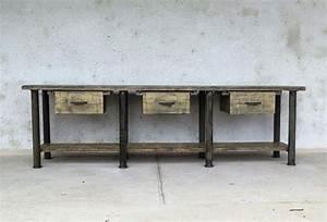 Vintage Industrial Möbel : industrial tisch industrial m bel antik ~ Markanthonyermac.com Haus und Dekorationen