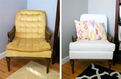 Getting A Chair Reupholstered by Before After S Chair Reupholstered Megan
