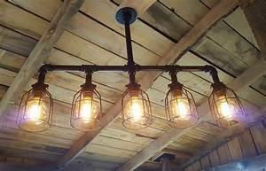 Rustic, Industrial, Lighting, Chandelier, U2022, Id, Lights