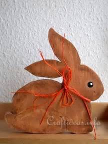 easter wood crafts with free patterns scrollsaw project simple bunny