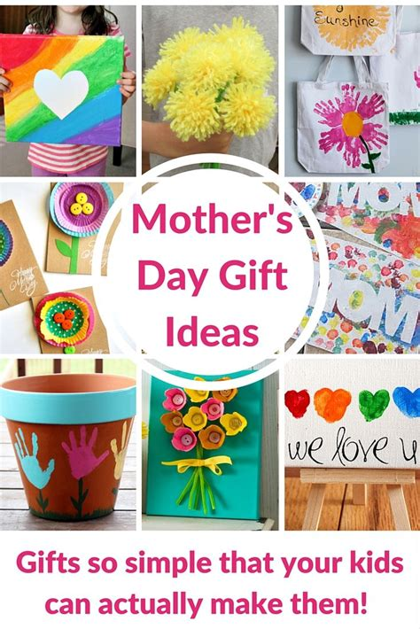mothers day gift ideasthat  kids