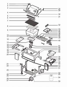 Weber 3290001 Parts List And Diagram