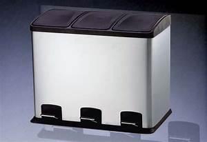 Design Mülleimer Küche : 36 liter treteimer abfalleimer m lleimer m lltrennung ~ Michelbontemps.com Haus und Dekorationen