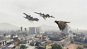 GTA X Scripting: GTA V PC - Angry Planes remake