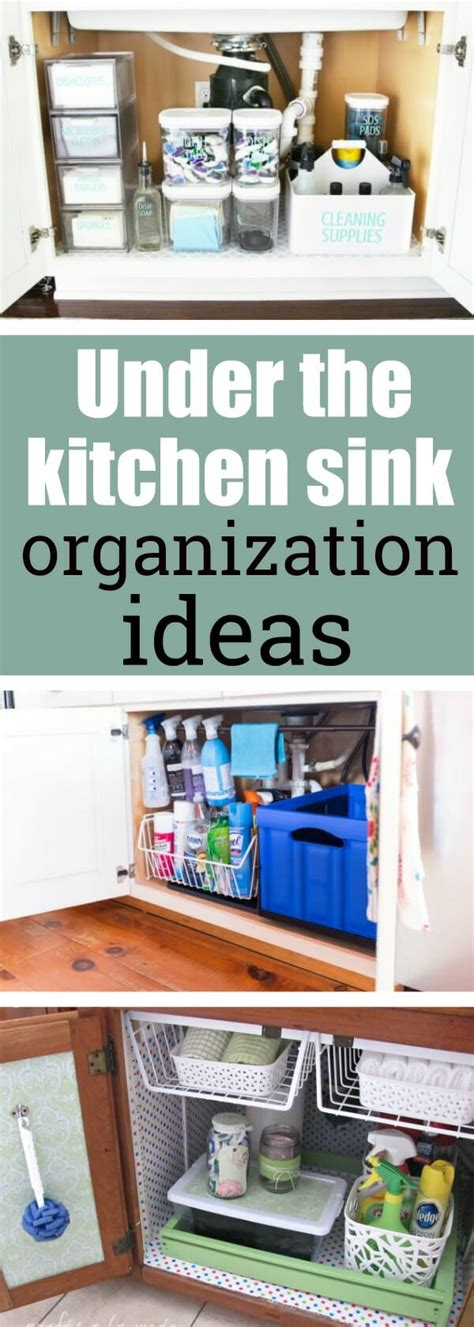 kitchen sink organization the kitchen sink organization ideas my style 2802