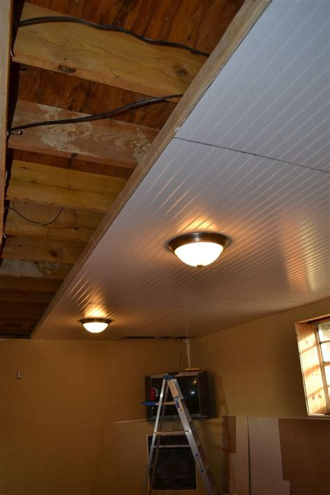 Cheap Drop Ceilings For Basements by Types Of Basement Ceilings Rooms