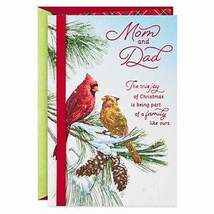 Family, Like, Ours, Christmas, Card, For, Mom, And, Dad