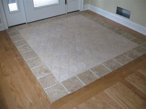 floor decor orange ct custom tile inlay in entrance yelp