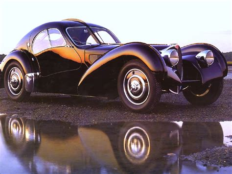 1937 Bugatti Type 57sc Atlantic-electron Coupe Black