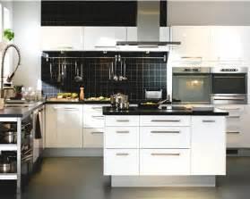Cuisine Faktum Noir by Cuisine Ikea Noire Et Blanche Avec 238 Lot Central