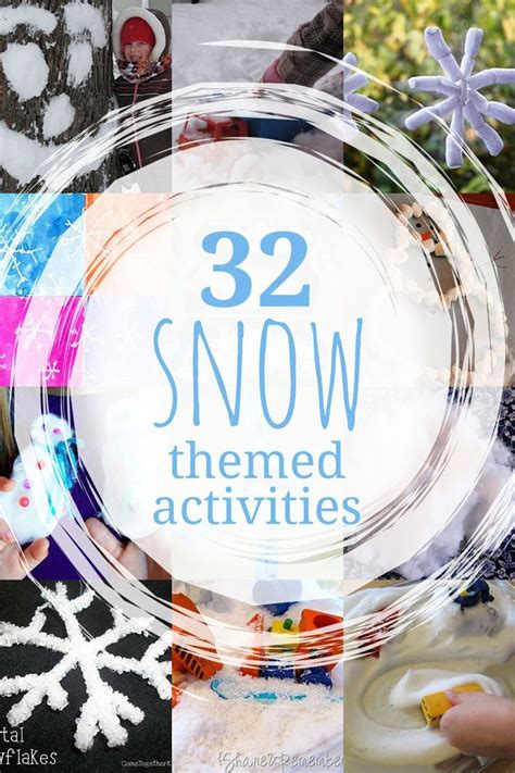snow activities 32 activities to do with snow 732 | 75b4c07f38eb4f68ab56163ddfb830db