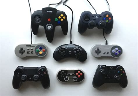 retro controllers gaming contenders
