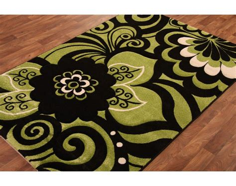 green kitchen mat lime green kitchen rugs carved lime green black 1417