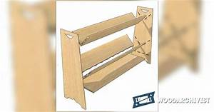 Mini Book Rack Plans • WoodArchivist