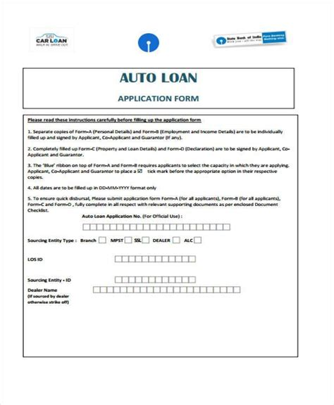 loan contract forms   ms word