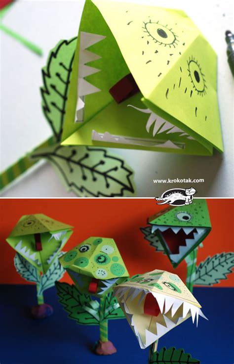 krokotak paper venus flytrap