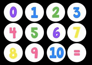 Printables. Number Images 1-10. Gozoneguide Thousands of ...