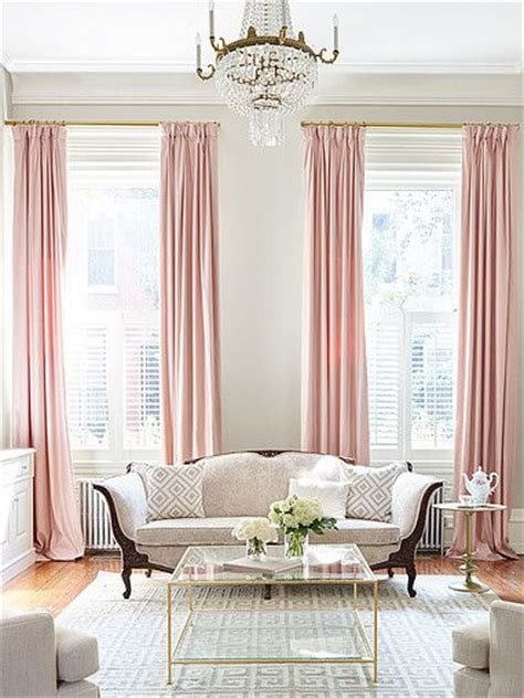 pink curtains ideas  pinterest pink curtains