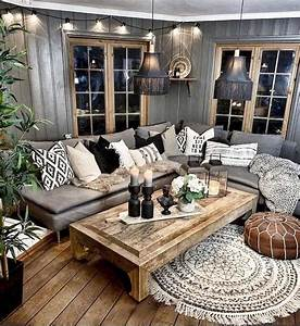 31, Nice, Rustic, Farmhouse, Living, Room, Design, And, Decor