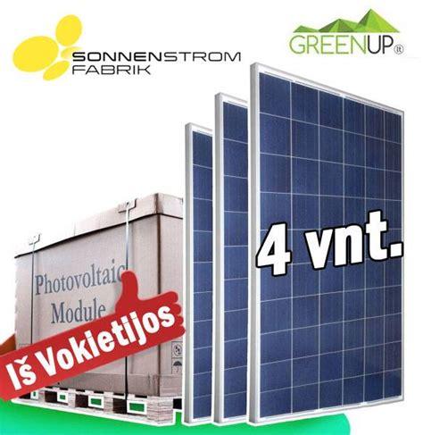Saules moduliai 4x265W. Polikristalinis saulės modulis. 1 ...