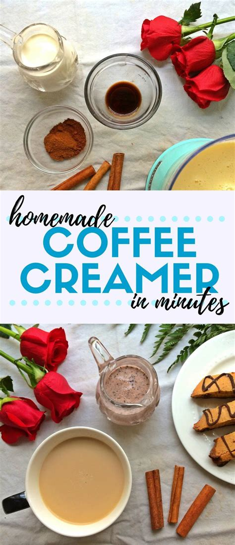 Making your own coffee creamer that's free of a long list of stuff you've never heard of—is actually a simple process that only takes a few household ingre. Ever wondered how to make homemade coffee creamer? It's so easy to make your own! Heavy cream ...