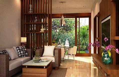sekat pembatas ruang tamu dan ruang keluarga desain minimalis pinterest modern