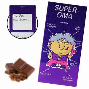 Geburtstag Berechnen : super oma schokolade s es geschenk f r gro m tter ~ Themetempest.com Abrechnung