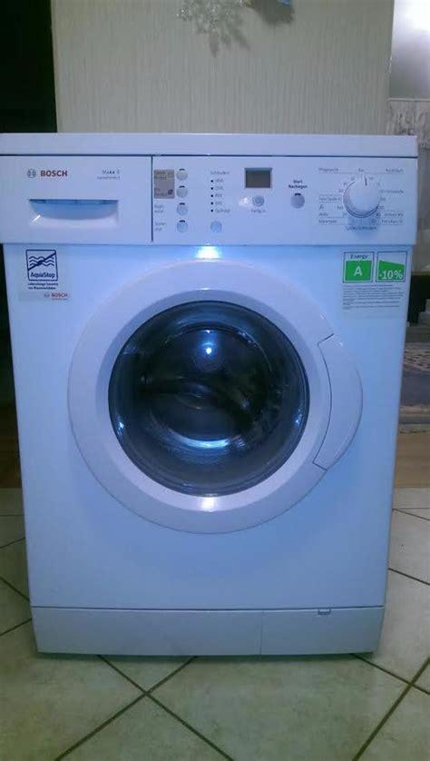 waschmaschine bosch maxx 6 varioperfect bis 6 kg ca 3 5 jahre alt top zustand in m 252 nchen