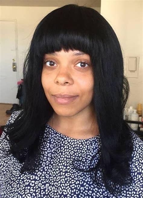 Sew In Hairstyles With Bangs by 20 Endearing Sew In Hairstyles