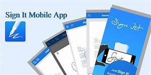 Sign it mobile app document signing made easy for Sign documents mobile app