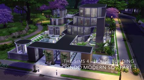 of sims 4 house building small modernity the sims 4 house building condo modern sq part 1 Best