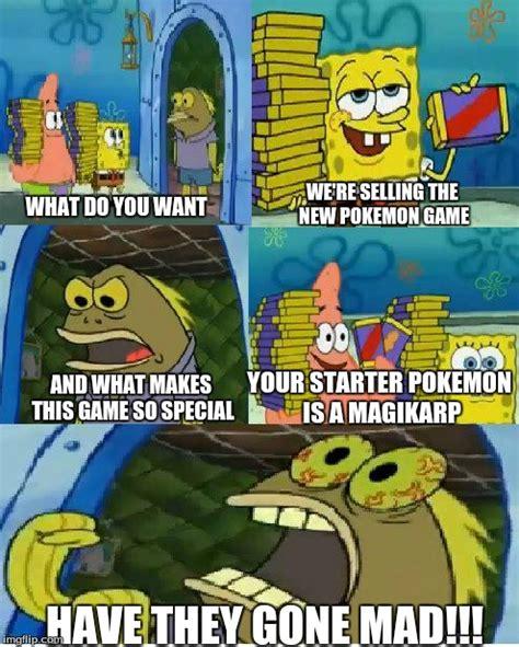 Pokemon Game Memes - pokemon spongebob meme pokemon images pokemon images
