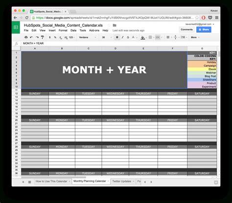 spreadsheet calendar template intended   readytogo