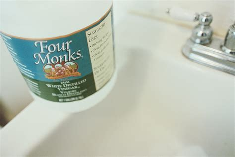 Unclogging Bathroom Sink With Baking Soda by Cleaning Drains With Baking Soda With Baking Soda Area