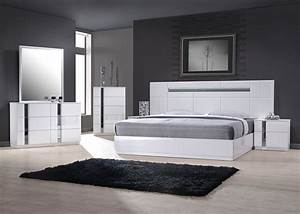 Exclusive wood contemporary modern bedroom sets los for Contemporary bedroom set