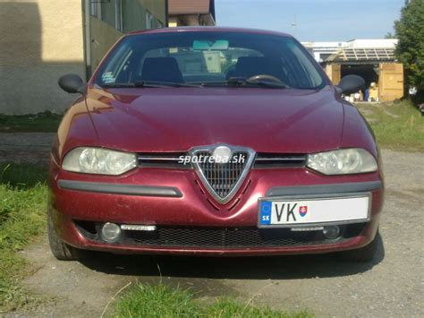 Alfa Romeo 156 24 Jtd Spotrebask