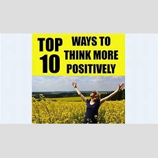 Top 10 Ways To Think More Positively In Social Work  Digital Education