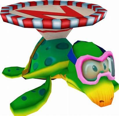 Crash Cortex Wrath Bandicoot Turtle Crasharki Models